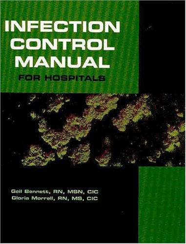 9781578393992: Infection Control Manual for Hospitals