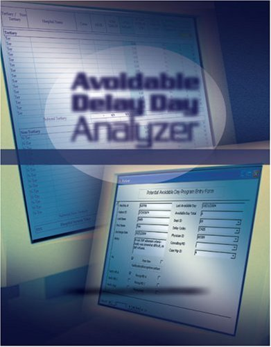 9781578395019: Avoidable Delay Day Analyzer: Data Identification Tools for Effective Case Management with CD-ROM