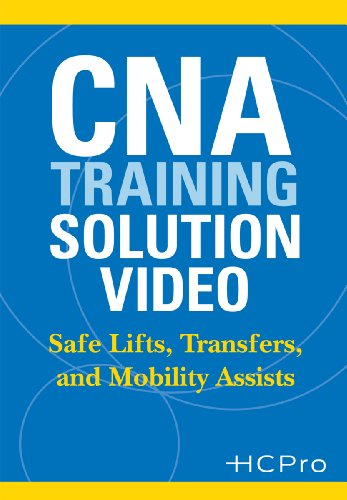 9781578396054: CNA Training Solution Video: Safe Lifts, Transfers, & Mobility Assists