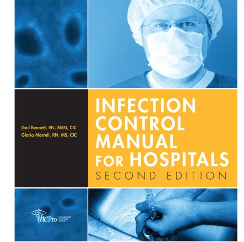 9781578397549: Infection Control Manual for Hospitals