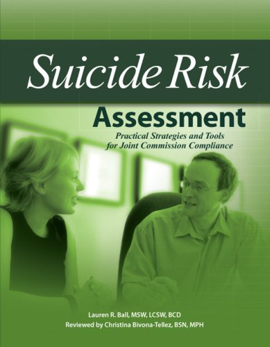 9781578399666: Suicide Risk Assessment: Practical Strategies and Tools for Jcaho Compliance