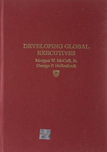 9781578513369: Developing Global Executives