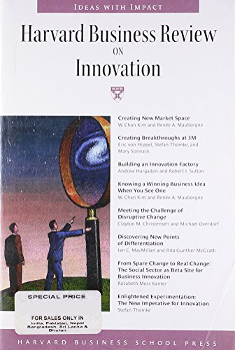 9781578516148: Harvard Business Review on Innovation