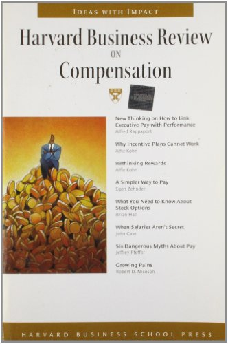 9781578517015: Harvard Business Review on Compensation