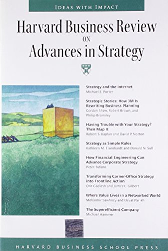 Harvard Business Review on Advances in Strategy: Robert Kaplan, Kathy