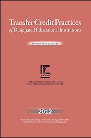 9781578580989: Transfer Credit Practices of Designated Educational Institutions (TCP) 2012