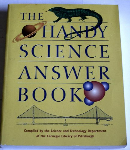 9781578590124: The Handy Science Answer Book