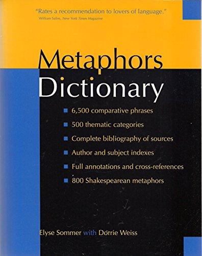 9781578590131: Metaphors Dictionary
