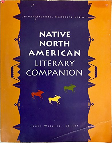 Native North American Literary Companion: Witalec, Janet (Editor)