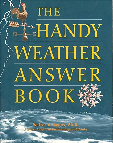 9781578590544: Handy Weather Answer Book