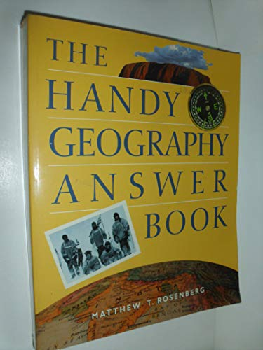 9781578591053: The Handy Geography Answer Book