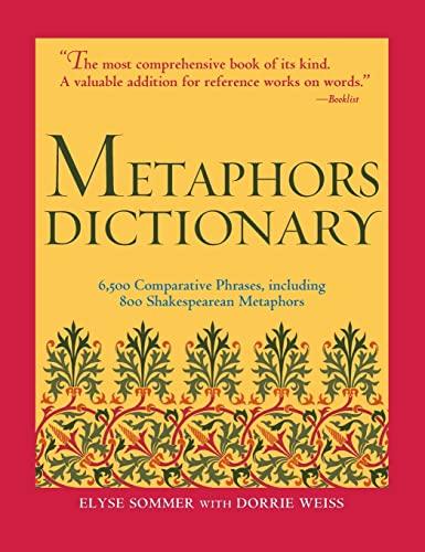 9781578591374: Metaphors Dictionary
