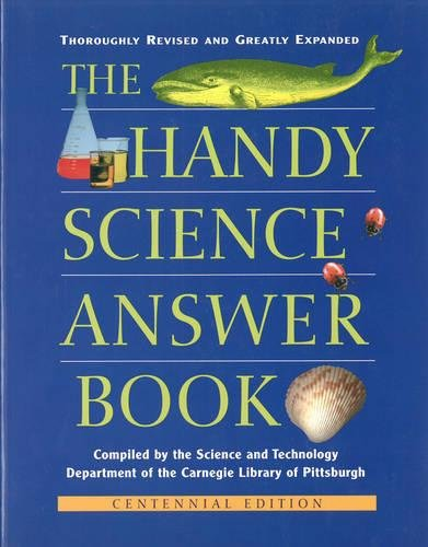 9781578591404: The Handy Science Answer Book (The Handy Answer Book Series)