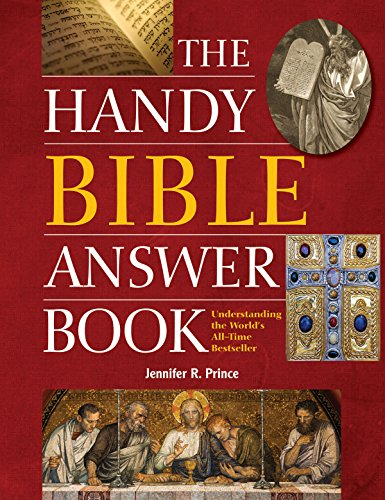 9781578594788: The Handy Bible Answer Book (The Handy Answer Book Series)