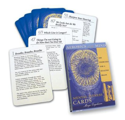 Mental Fitness Cards: 100 Exercises for a Healthy Brain: Aerobics for the Mind: Engelman, Marge