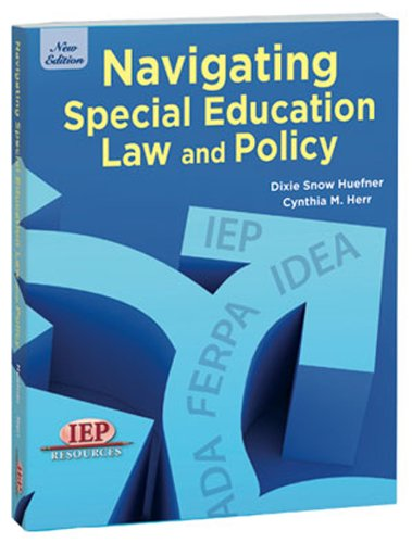 9781578617821: Navigating Special Education Law and Policy