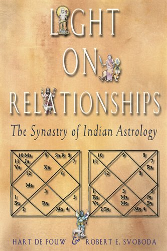 9781578631483: Light on Relationships: The Synastry of Indian Astrology