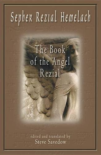 9781578631681: Sepher Rezial Hemelach: The Book of the Angel Rezial