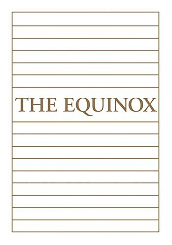 9781578633517: The Equinox: Vol. 1