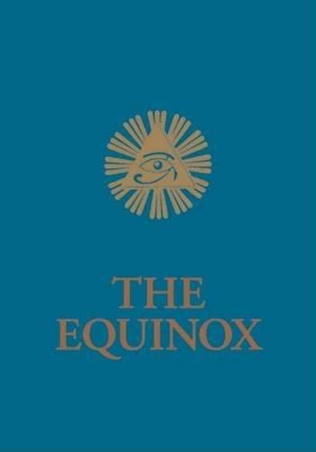 9781578633531: 3: The Blue Equinox: The Equniox, Volume III No. 1 (Equinox Series)