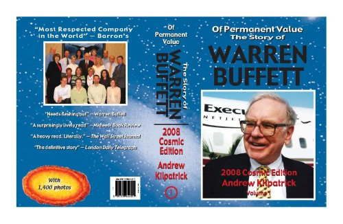 9781578644551: Of Permanent Value: The Story of Warren Buffett/2008 Cosmic Edition/2 volumes