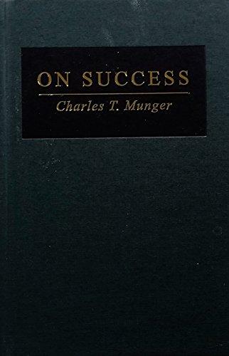 9781578645985: On Success