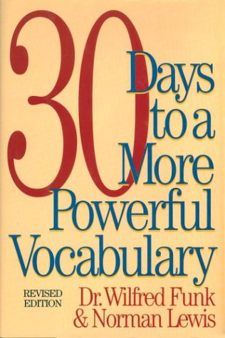9781578660308: 30 Days to a More Powerful Vocabulary