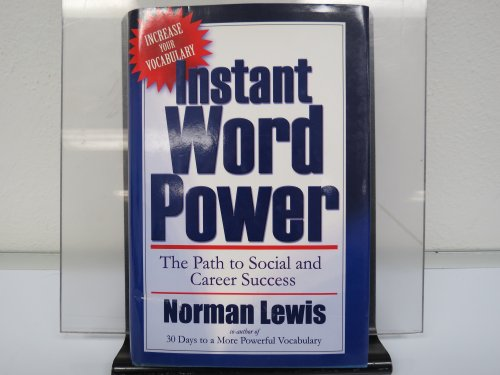 9781578661466: Instant Word Power (Increase your Vocabulary, The Path to social and career success)