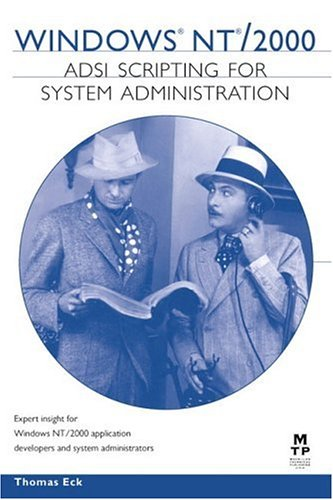 9781578702190: Windows NT/2000 ADSI Scripting for System Administration