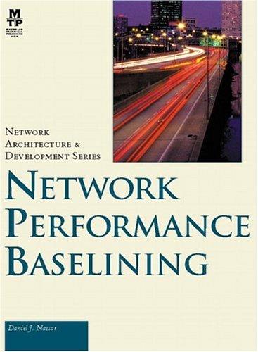 Network Performance Baselining: Daniel Nassar