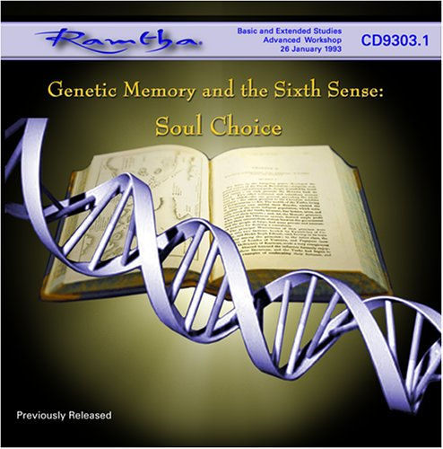 9781578732944: Ramtha on Genetic Memory and the Sixth Sense: Soul Choice - CD-9303.1