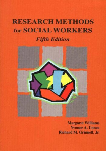 9781578790593: Research Methods For Social Workers