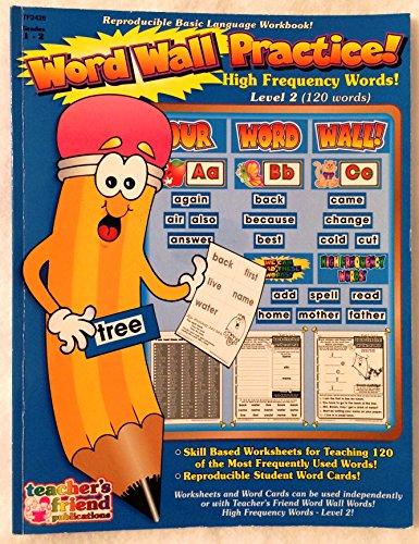 Word Wall Workbook - High Frequency Words: Karen Sevaly; Richard