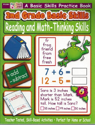 2nd Grade Basic Skills: Reading and Math: Teacher's Friend Publications