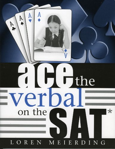 9781578861989: Ace the Verbal on the SAT