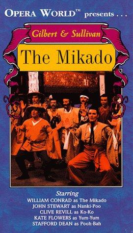 9781578900039: Gilbert & Sullivan - The Mikado / Conrad, Stewart, Revill, Opera World [VHS]