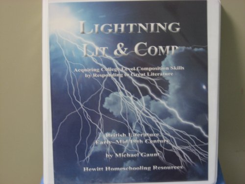 9781578961320: Lightning Literature and Composition: British Literature: Early-Mid 19th Century