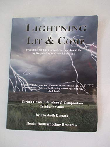 9781578962372: Lightning Literature: 8th Grade Teacher's Guide (Lightning Lit & Comp)