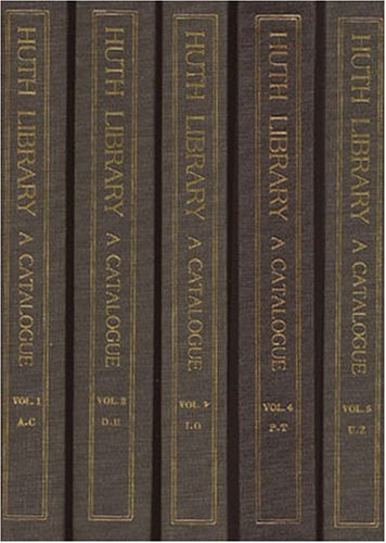 The Huth Library: A Catalogue of the: Ellis, Frederick Startridge;