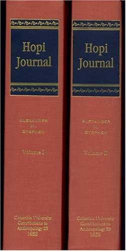 Hopi Journal of Alexander M. Stephen (2: Elsie Clews Parsons,