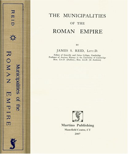 9781578986422: The Municipalities of the Roman Empire