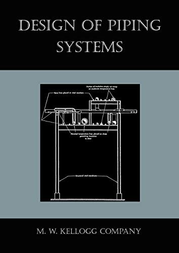 9781578988235: Design of Piping Systems