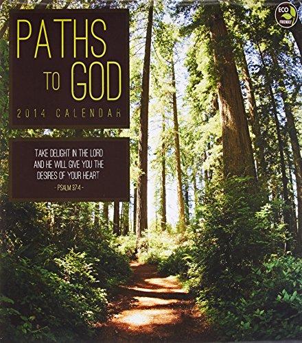 9781579000349: 2014 Paths to God Wall Calendar