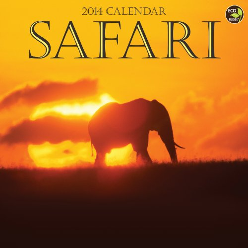 Safari 2014 Wall Calendar