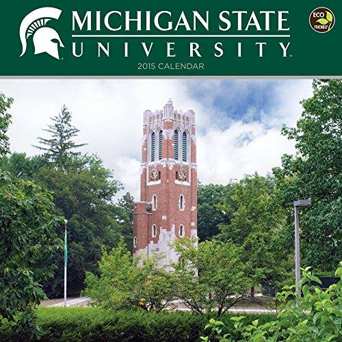 9781579002862: 2015 Michigan State University Wall Calendar