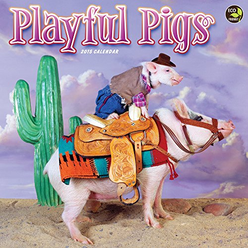 Playful Pigs 2015 Calendar