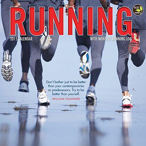 9781579003197: Running 2015 Calendar: With Monthly Running Log