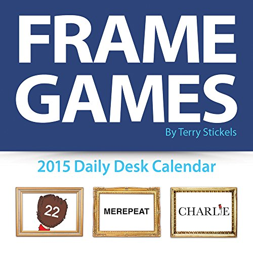 9781579003807: 2015 Frame Games Daily Desktop Calendar