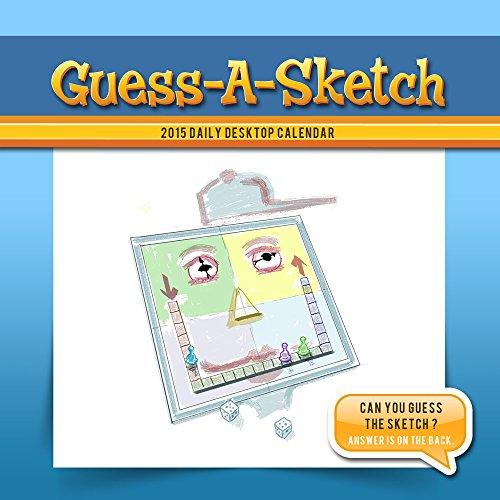 9781579003821: 2015 Guess-A-Sketch Daily Desktop Calendar