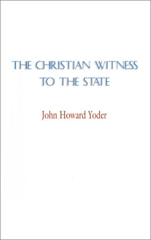 9781579100377: The Christian Witness to the State